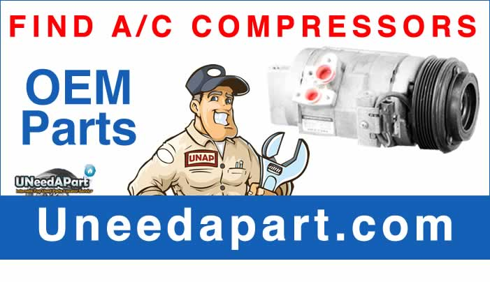 GET A USED AC Compressor from Uneedapart