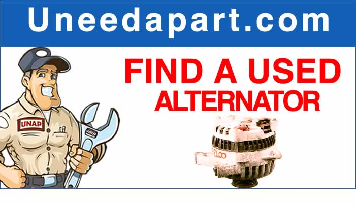 GET A USED Car Alternator from Uneedapart