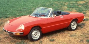 Alfa Romeo 1600 Spider Parts