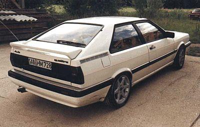 Audi Coupe Quattro Parts