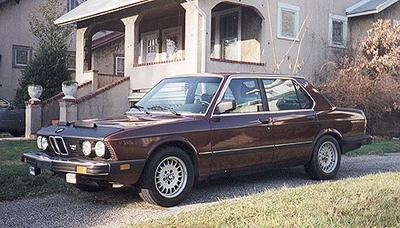 BMW 533i Parts