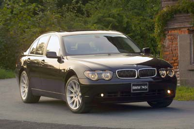 BMW 745i Parts