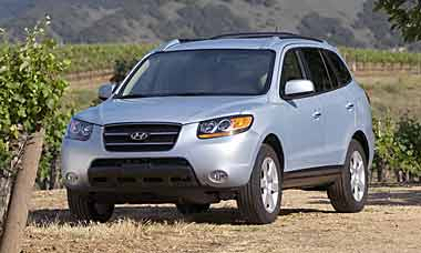 Hyundai Santa Fe Parts