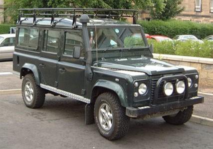 Land Rover Defender 110 Parts
