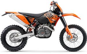 KTM Motorcycle Parts