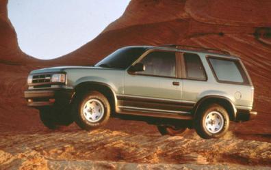 Mazda Navajo Parts
