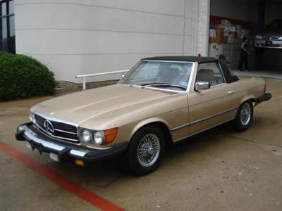 Mercedes-Benz 380 Parts
