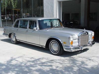 Mercedes-Benz 600 Parts