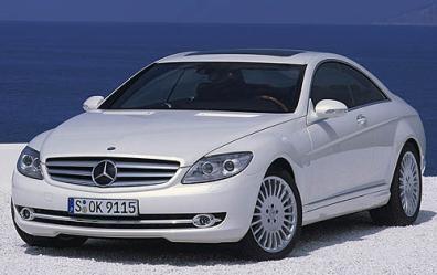 Mercedes-Benz CL600 Parts