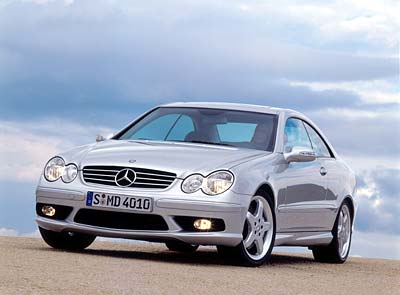 Mercedes-Benz CLK500 Parts