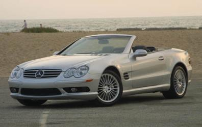 Mercedes-Benz SL55 AMG Parts