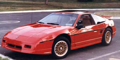 Pontiac Fiero Parts