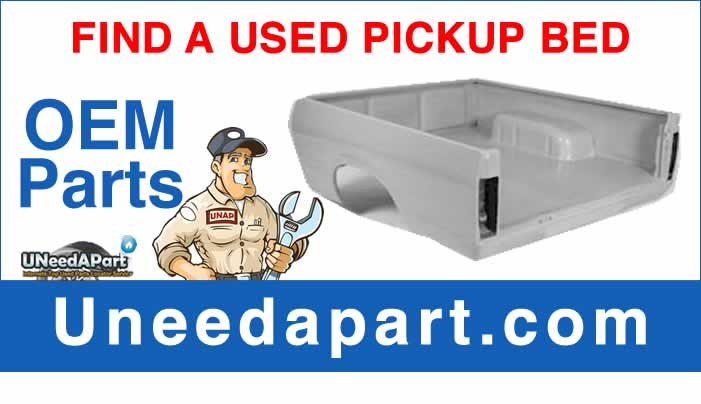 GET A USED a Used Pickup Bed from Uneedapart